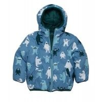 Hatley Boys Ice Monster Reversible Puffer Jacket £48.00