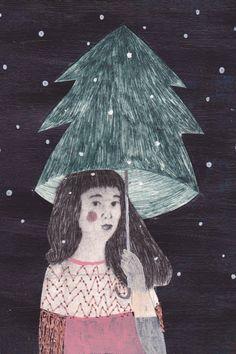 Julie Van Wezemael: Holiday cards
