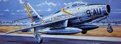 Republic F-84F Thunderstreak Armée de l'Air (Francis Bergése)