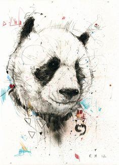 Panda by Russ Mills *