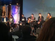 Hillsong United during an elective at Hillsong Conference Sydney 2013