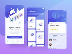 Exploration for Course Mobile App by Papay Wicaksono on Dribbble Application Design, Mobile Application, Ux Design, Apps, Linkedin App, Mobile App Ui, Mobile Code, Me App, Mobile Ui Design