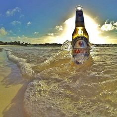 Doesn't that look refreshing....only in The Bahamas