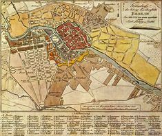 Die 10 Stadtteile Berlins im 18.Jahrhundert