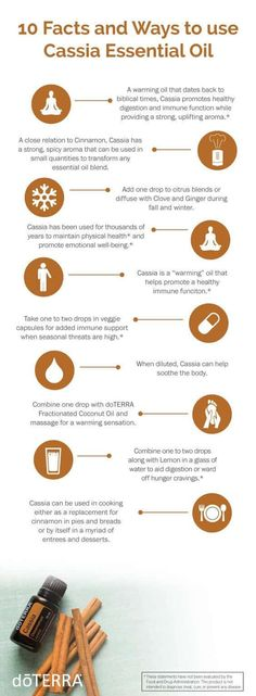 Cinnamon Essential Oil Uses: doTERRA Cassia Essential Oil Uses - Best Essential Oils Cassia Essential Oil, Cinnamon Essential Oil, Best Essential Oils, Essential Oil Uses, Young Living Essential Oils, Essential Oil Diffuser, Tips And Tricks, Diffuser Recipes, Oil Benefits