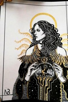 Yennefer of Vengerberg, Witcher character, by Nox Benedicta. Available as printable wall art on my Etsy store! #yennefer #yenneferofvengerberg yennefer and geralt | yennefer witcher art | witch aesthetic | witch art | witchy decor | etsy witch | etsy printables Yennefer Witcher, Yennefer Of Vengerberg, Witcher Art, Baroque Fashion, Dark Fashion, Witch Aesthetic, Printable Wall Art, Dark Art, Etsy Store