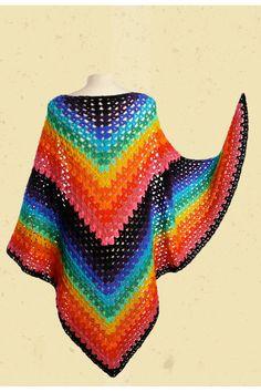 57 Beste Afbeeldingen Van Poncho Sjaal Haken Crochet Scarves