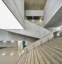 Conservatoire of Music, Dance and Dramatic Arts, Belfort   Dominique Coulon & associés; Photo: Eugeni Pons   Archinect