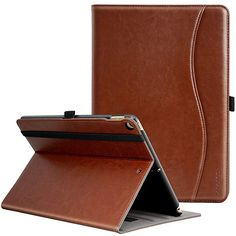 Genuine Leather case for apple iPad mini 4 with Card Slots Magnetic closure new