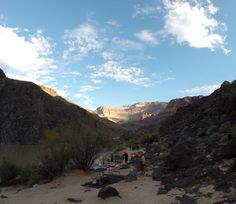 2014 Hatch Expedition rafting Colorado River thru Grand Canyon GoPro - camp