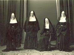 photos of nuns   catholic sisters of mercy four biological sisters the nun on the right ...