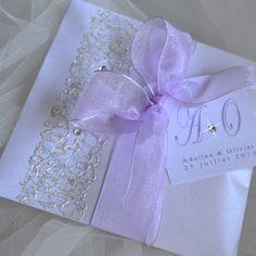 Cadeau d'invités : pochette parfumée