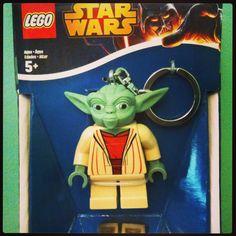 Lego Yoda key holder, to keep the Dark Side away!
