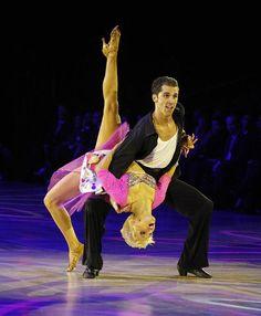 Bree Watson and Decho Kraev    (Ballroom dance, dancesport)