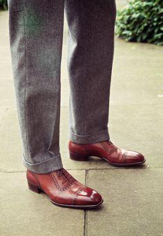 Gaziano & Girling bespoke shoe
