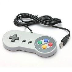 Super Nintendo, Snes handkontroll - USB
