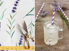 Design to Dish: Lavender Lemonade by MelissaBahen for Julep