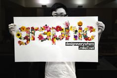 Design Context: Flower Typography