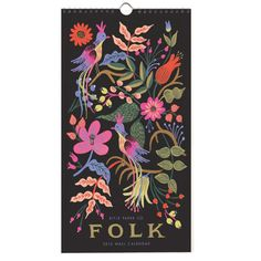 2016 Folk Calendar | Rifle Paper Co Cover