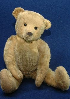 "Antique 17"" Mohair Teddy Bear German 1900's #AllOccasion"