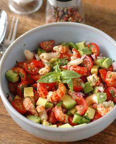 Crawfish Tomato Avocado Salsa