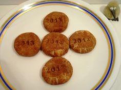 Hamis marcipán fillérekből | Konyhalál Muffin, Cookies, Breakfast, Desserts, Food, Crack Crackers, Morning Coffee, Tailgate Desserts, Deserts