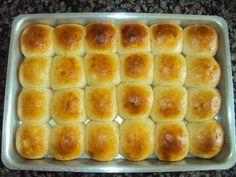 Os Pãezinhos de Batata são deliciosos, macios e combinam com uma infinidade de recheios. Faça e transforme o lanche em um momento de puro prazer! Veja Tamb