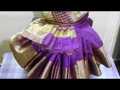 ವರಮಹಾಲಕ್ಷ್ಮಿ ಕಳಸಕ್ಕೆ ಸೀರೆ ಉಡಿಸುವ ವಿಧಾನ/ How to drape a saree to Varamahalakshmi Kalasa/ Savi Bhojana Lakshmi Sarees, Pooja Rooms, Wrapping Ideas, Draping, Projects To Try, Wraps, Children, Books, Youtube