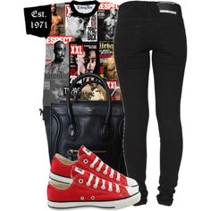 Untitled #1230, created by ayline-somindless4rayray on Polyvore