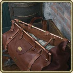 Leather Luggage Travel Bag Grip No. 3 | Best USA Made | Col Littleton