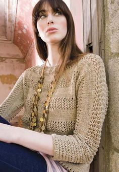 Farrah Pullover in Berroco Maya. Discover more Patterns by Berroco at LoveKnitting. The world's largest range of knitting supplies - we stock patterns, yarn, needles and books from all of your favorite brands.
