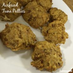 Airfried Tuna Patties - SANses | A Singaporean Mummy In Sydney