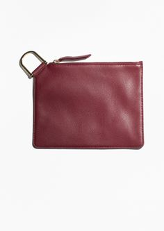 & Other Stories | D-Ring Leather Clutch