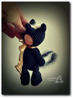 Titi Skunk , by LesPouPZ Handmade Dolls