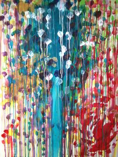 """Saatchi Online Artist Tomomi Maruyama; Painting, """"The universe, and the nature's law"""" #art"""