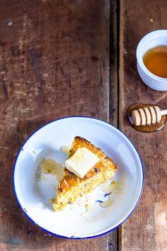 buttery cornbread with honey recipe