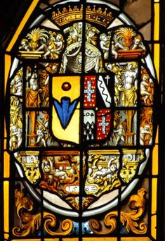 victoria and albert stained glass coat of arms - Google Search