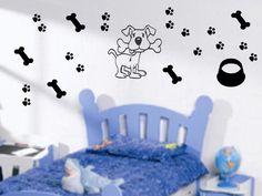 Adesivo Decorativo - Cão