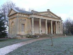 Abandoned English country house.