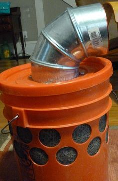 This is a fantastic, cheap way to create a swamp cooler for your tent when camping on super hot days in the summer! WHAT?!? :)
