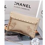 2014 Fashion Special Evening/Party Skull Palm Cool Women's Handbags Messenger Bag DTH-331719