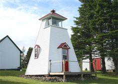Pecks Point Lighthouse, New Brunswick Canada