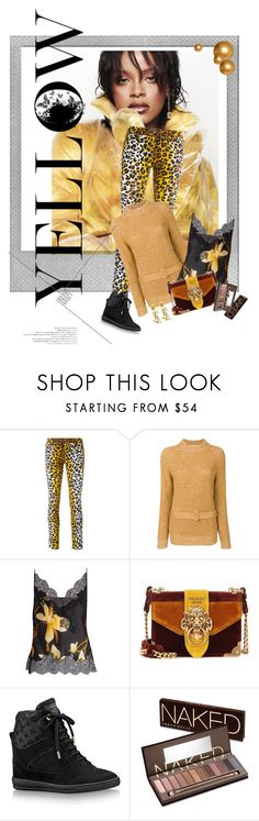"""""""blend with your fav.animal friend"""" by diananicoleparsons ❤ liked on Polyvore featuring Puma, Polaroid, Love Moschino, See by Chloé, Carine Gilson, Prada, Louis Vuitton, Yves Saint Laurent and Urban Decay"""