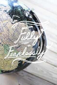 Travel fully & fearlessly #quote #travel #adventure
