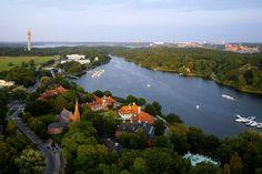 Diplomatstaden och Djurgården - Stockholm
