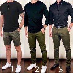 I like to take a color combo that works well and use it in a lot of different ways.from shorts, casual, to dressier outfits. Which style… Summer Outfits Men, Stylish Mens Outfits, Dressy Outfits, Mens Casual Dress Clothes, Men Clothes, Mens Summer Shorts, Fashion Clothes For Men, Business Casual Outfits Men, Outfits For Men