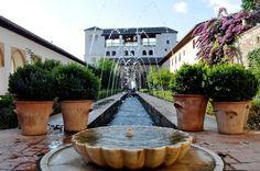Granada Spain- la Alumbra Palace