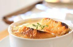Quick and Easy Homemade Onion Soup - foodista.com