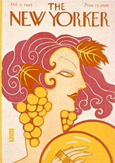 Barbara Shermund : Cover art for The New Yorker 33 - 3 October 1925