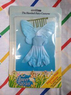 Vintage Hornby Flower Fairies HAREBELL blue by LittleToyLost